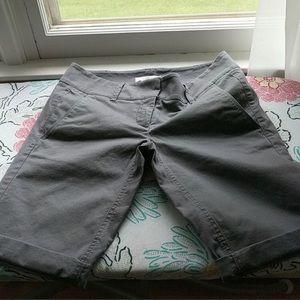 Bermuda roll shorts. Loft